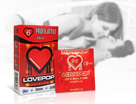 Kondomi LovePop: 6 komada