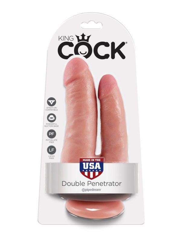 Realistični Dupli Dildo Double Penetrator