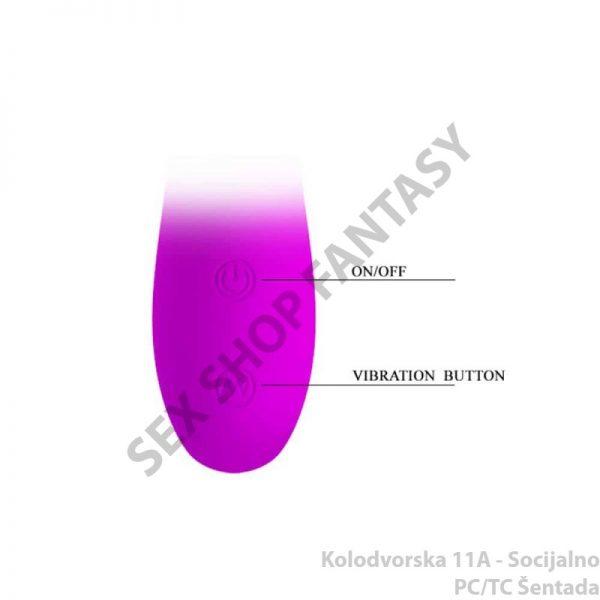 "Vibrator ""Pretty Love Paul"" 17cm x 3.5cm"