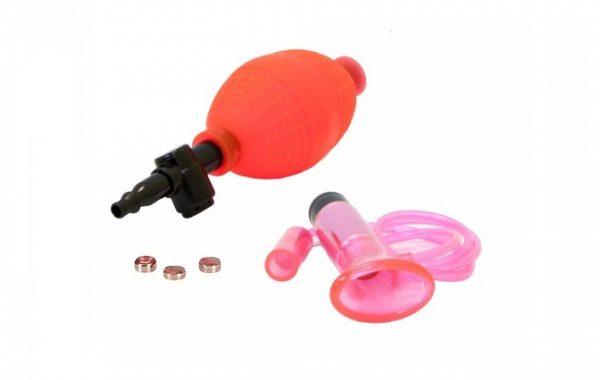 Vibrirajuća vakum pumpica za klitoris