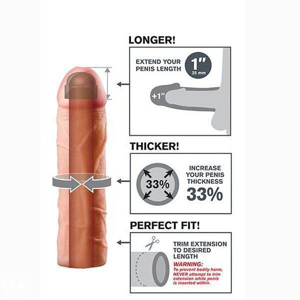 """X-Tensions Navlaka 1"""": Povećava dužinu 3cm, obim 33%"""